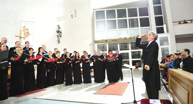 Dotácie by pomohli aj zboristom z Cantica collegium musicum.