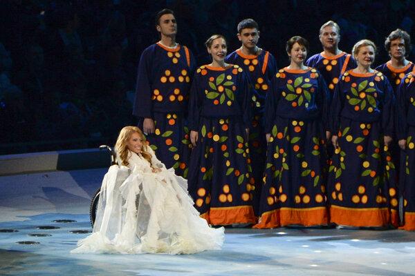 Samojlovová má na Eurosongu v Kyjeve súťažiť s piesňou Flame is Burning.