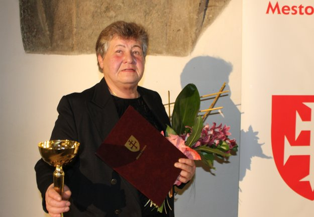 Legenda zvolenského športu - Danica Sokolíková