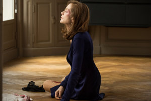 Isabelle Huppertová bola za úlohu vo filme Elle nominovaná na Oscara.