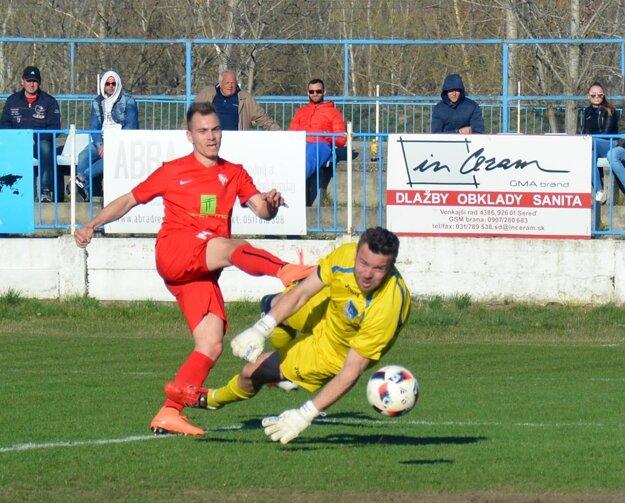 Jediný gól Serede takto strelil Adam Morong.