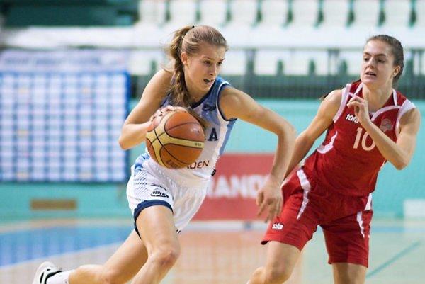 Streleckou líderkou tímu Nitry bola tradične Nikola Kováčiková.