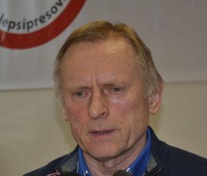 Jozef Baran, predseda OZ Lepší Prešov.