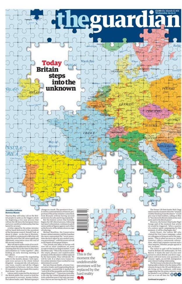 Guardian: Británia dnes vkročila do neznáma
