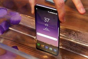 Nový smartphone Galaxy S8.