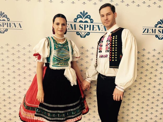 Excelentný tanečník. Petrovi Vajdovi robila na pódiu tanečnú partnerku jeho manželka.