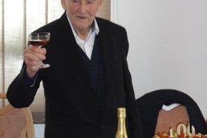 František Boháčik oslávil sté narodeniny.