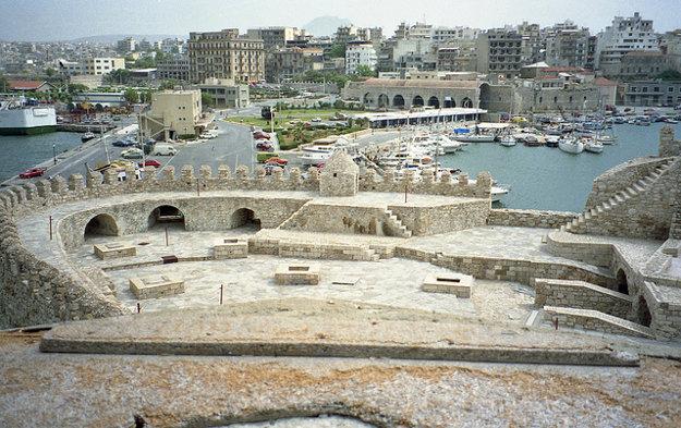 Heraklion, hlavné mesto Kréty.