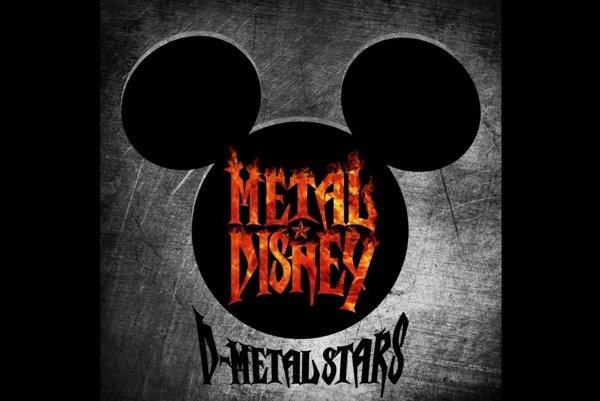 Obal albumu metalových cover verzií piesní z disneyoviek.
