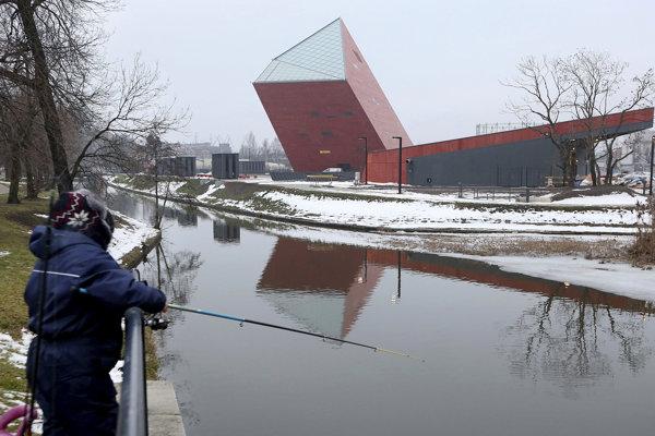 Nové múzeum druhej svetovej vojny v Gdansku.