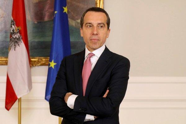 Bývalý rakúsky kancelár Christian Kern.