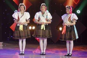 Rusínske trio. Dominika, Simona a Dominika opäť zanôtia anjelskými hlasmi.