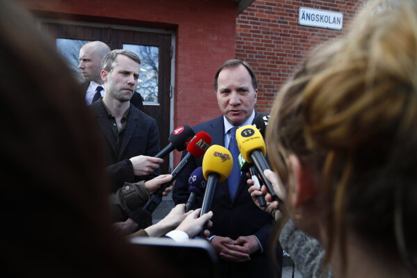 Švédsky premiér Stefan Lofven.