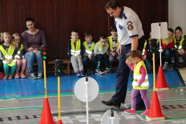 Projekt Meskáčik prispieva k dopravnej východe detí.