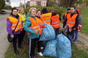 Pozitívne zareagovala na brigádu aj Základná škola na Devínskej ulici.