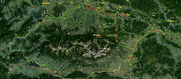 Cyklochodník okolo Tatier