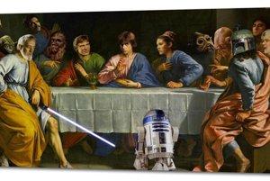 Star Wars v dramatickom zoskupení biblickej chvíle.