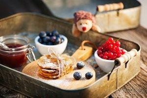 Sladké ovocné placky