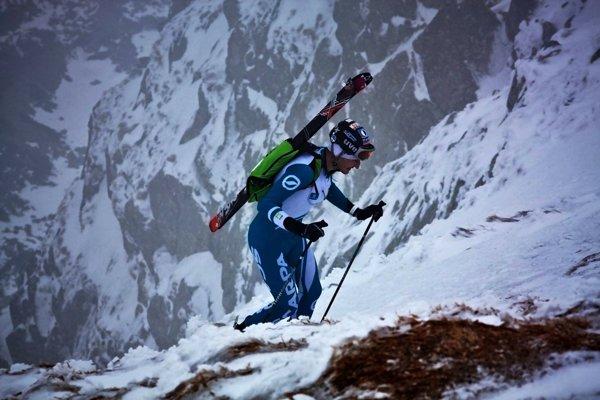 Jakub Šiarnik na Skialpinistickom maratóne, finále SP v skialpinizme.