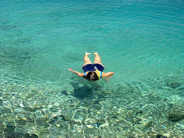 Výborné miesta na šnorchlovanie nájdete aj v Európe.