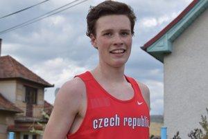 Marek Chrascina (Jablunkov, ČR) - držiteľ traťového rekordu podujatia.