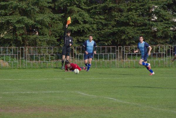 Zo zápasu Budča - Podzámčok