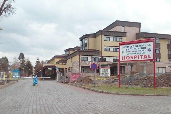 Nemocnica vLiptovskom Mikuláš investuje zúveru do urgentného príjmu vrátane prístrojového vybavenia.
