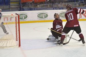 Lotyši v kľúčovom zápase podľahli Bielorusom.