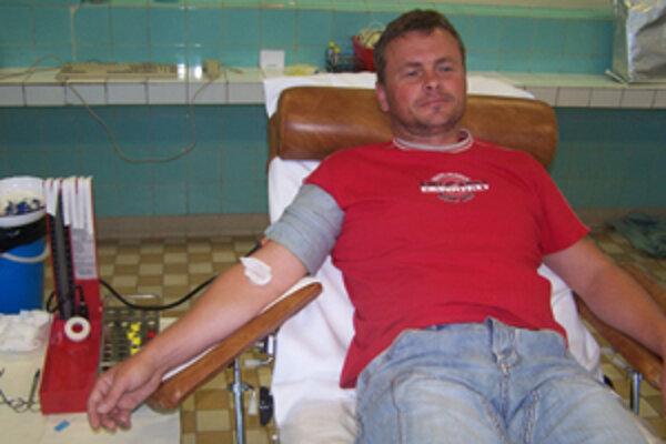 Vďaka ochote darcov je v okrese krvi dosť.