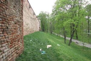Trnavské hradby.