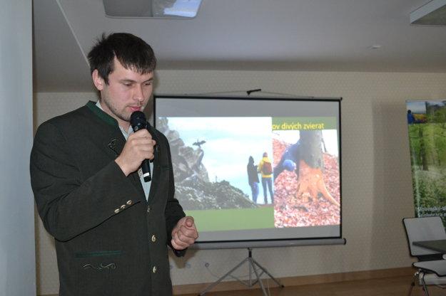 Mário Perinaj predstavil NP Poloniny.