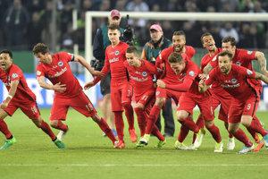 Frankfurt sa tešil z postupu do finále.
