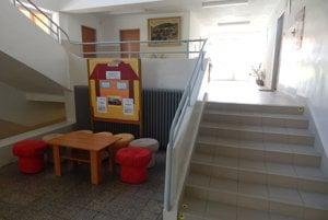 Zrekonštruované schodište.