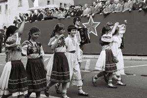 Banská Bystrica, 1. máj 1983.