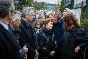 Spomienkovej akcie sa zúčastnil aj Ján Figeľ.