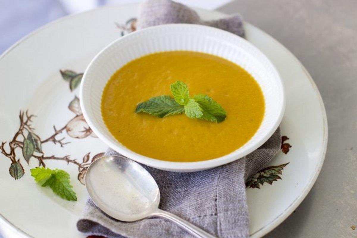 Тыквенный суп-пюре с сыром рецепт пошагово
