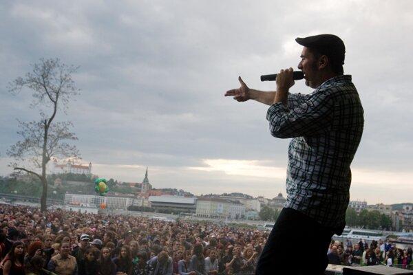 Koncert kapely Polemic pred niekoľkými rokmi na Bratislavskom majálese.