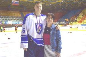 Miloš Fafrák so svojou mamou Blankou Fafrákovou