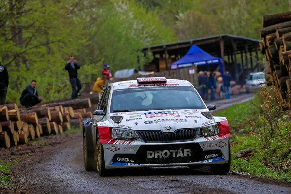 Prešovská rally Drotárovi vyšla. Skončil na siedmom mieste.