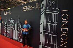Andrej Ružík pred štartom londýnskeho maratónu.