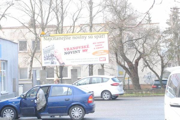 Vo Vranove majú problém s parkovaním.