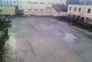 Areál Sokolovne.