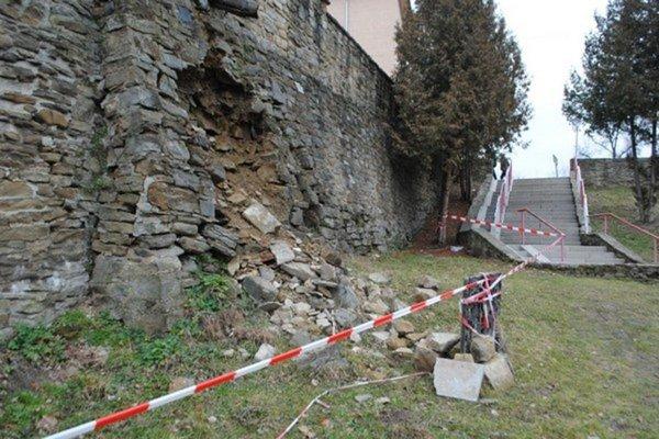 Bezpečný nie je oporný múr.
