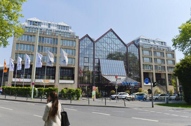 Hotel Maritim, kde je ubytovaná slovenská výprava počas MS v ľadovom hokeji v Kolíne nad Rýnom.