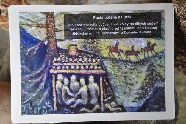 Obraz Tibora Spitza – Pustá Poľana na Brči.