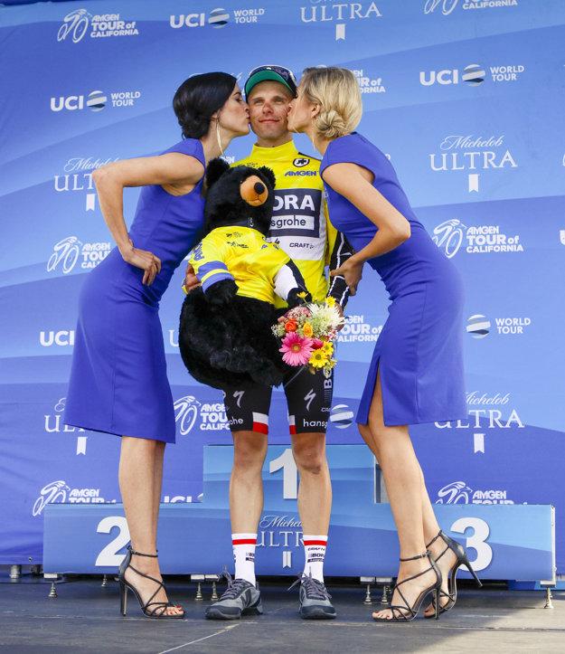 Celkovým lídrom zostal Saganov tímový kolega Rafal Majka.