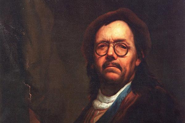 Ján Kupecký, autoportrét
