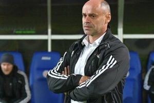 Tréner Prešova. Miroslava Janteka potešil tímový výkon jeho zverencov.