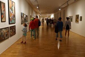 Na nedostatok návštevníkov sa košické múzeá a galérie sťažovať nemohli.