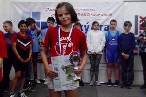 Nina Bombová z Bobrova sa takisto tešila z titulu majsterky Slovenska.